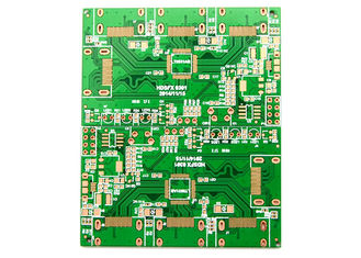 Fr4 a base 2 tomou partido OEM restrito do controle da placa do PWB 1.0mm 1.6mm grosso